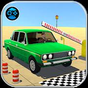 Prado Car Parking Game: Extreme Tracks Driving 3D
